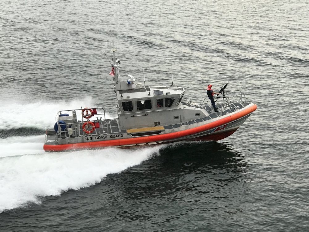 The Coast Guard does not mess around