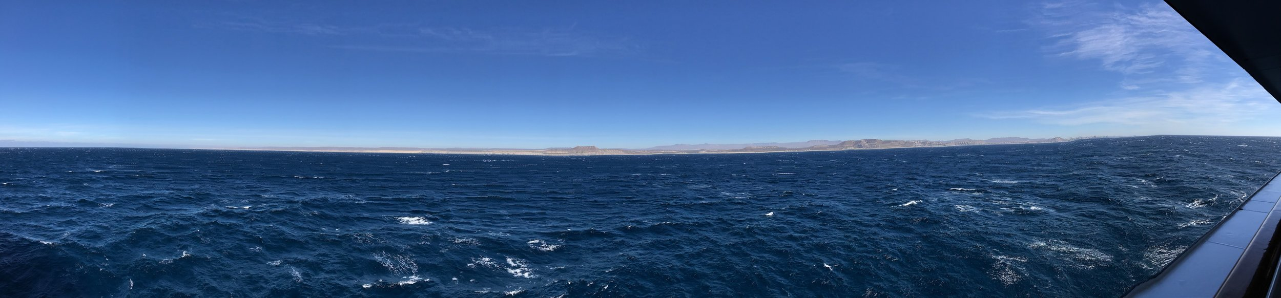 Panorama approaching Cabo