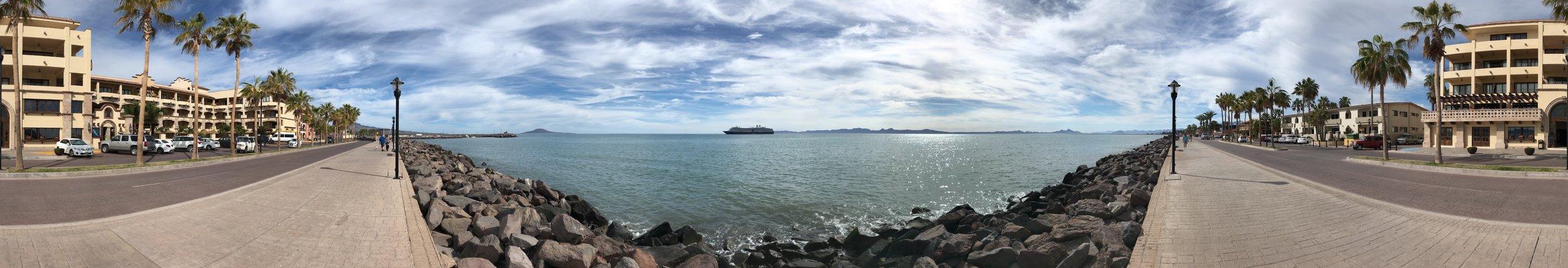 180 Degress of Loreto Beach